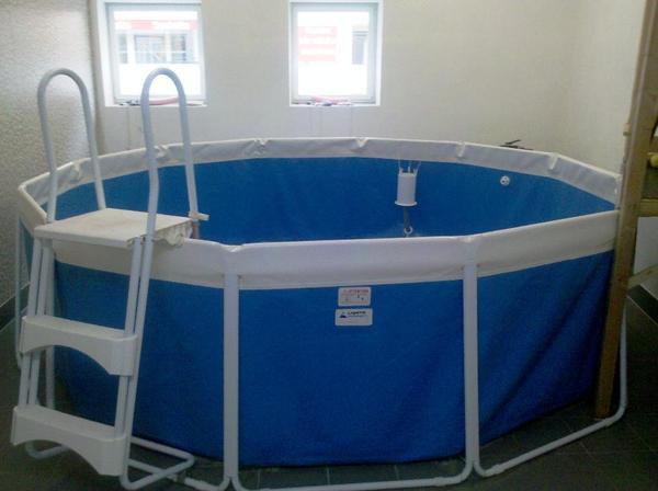 schwimmbecken / pool / schwimmbad durchmesser 360 cm, extrem, Garten und Bauen