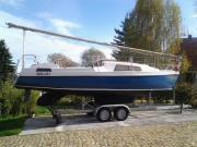 Segelboot 8m mit