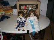 Sehr schöne Porzellan Puppen zu