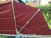 Sichtschutz Balkon-Terassenfächer für das Geländer