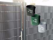 Sichtschutzstreifen Hart-PVC