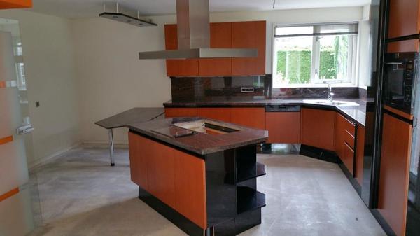 SIEMATIC hochwertige grosse Küche Einbauküche in Küche mit Insel ... | {Hochwertige küchenzeilen 25}