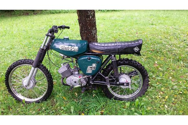 simson s51 enduro motocross in rudersberg mofas 50er kleinkraftr der kaufen und verkaufen. Black Bedroom Furniture Sets. Home Design Ideas