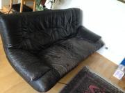 Sofa aus Leder