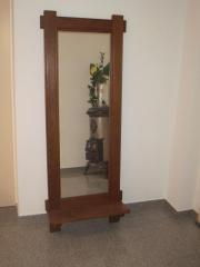 Spiegel mit Eicherahmen