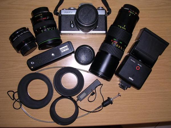 Spiegelreflex Minolta XD7 technisch und