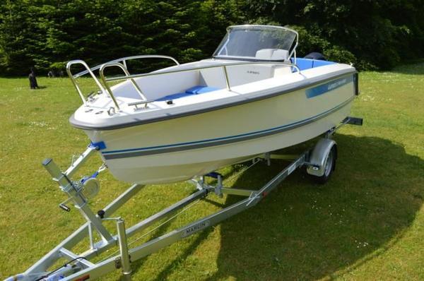 Sportboot Konsolenboot RYDS 548 Sport inkl. Motor in Tettnang ...