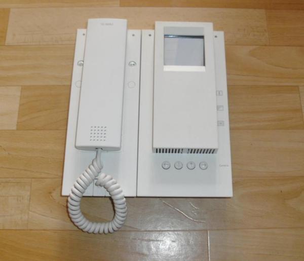 sss siedle mom 611 0 w monochrom monitor in karlsruhe. Black Bedroom Furniture Sets. Home Design Ideas