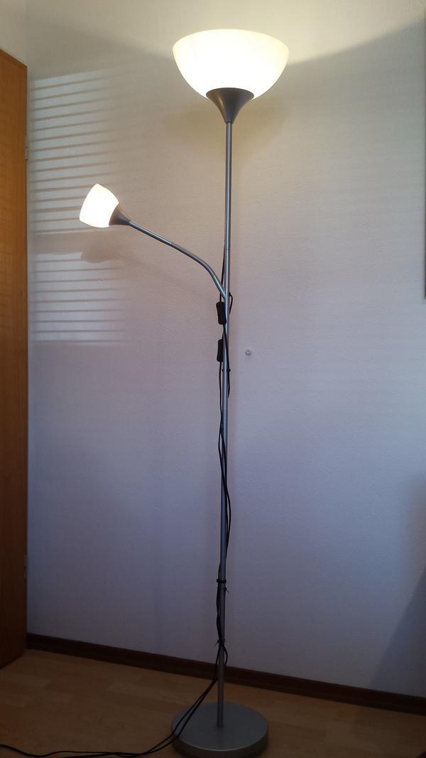 stehlampe deckenfluter neu und gebraucht kaufen bei. Black Bedroom Furniture Sets. Home Design Ideas