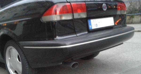 Stossstange hinten für » Saab-Teile