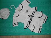 Süße Baby Marine 3tlg Outfit