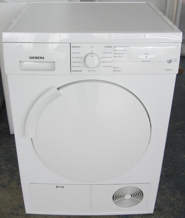 Siemens trockner e44 10