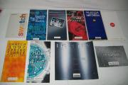 Swatch-Collectionshefte verschiedene Jahrgänge