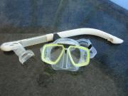Taucherbrille mit Schnorchel