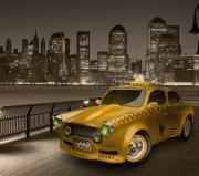 Taxi oder Mietwagenfahrer/