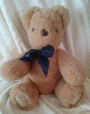 Teddy handgemacht aus Lammfell