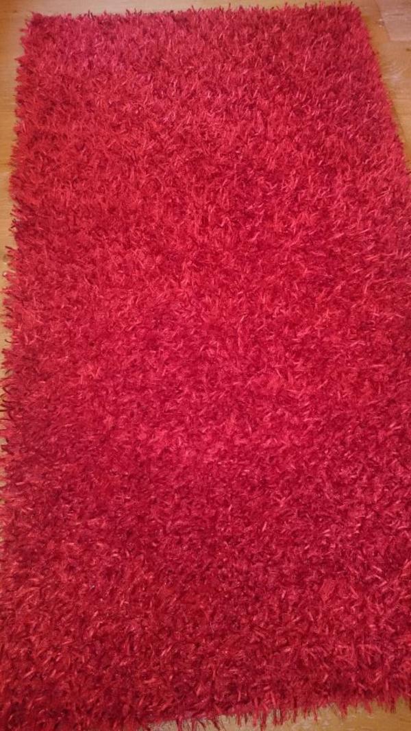 Teppich Fluffy red 90 x