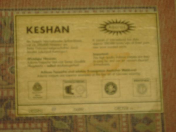 teppich keshan fa adoros in nordheim teppiche kaufen und verkaufen ber private kleinanzeigen. Black Bedroom Furniture Sets. Home Design Ideas