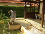terrassenwindschutz in gräfelfing - sonstiges für den garten, Garten seite