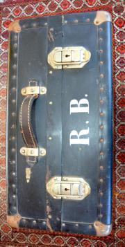 Toller antiker Reisekoffer