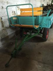 Traktoranhänger / Ackerrolle frisch