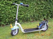 Trittroller PUKY Roller hellblau