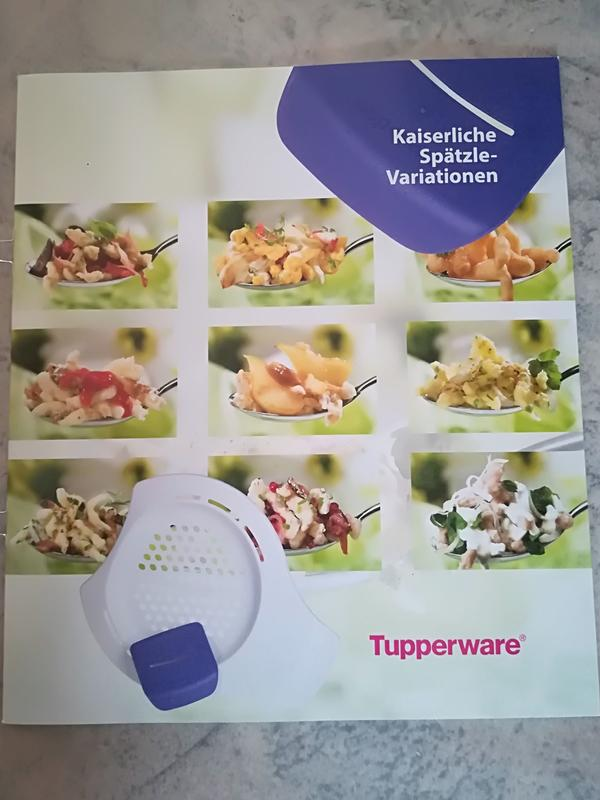 Tupperware Rezepthefte