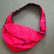 Umhänge-Tasche neu und unbenutzt - rot -