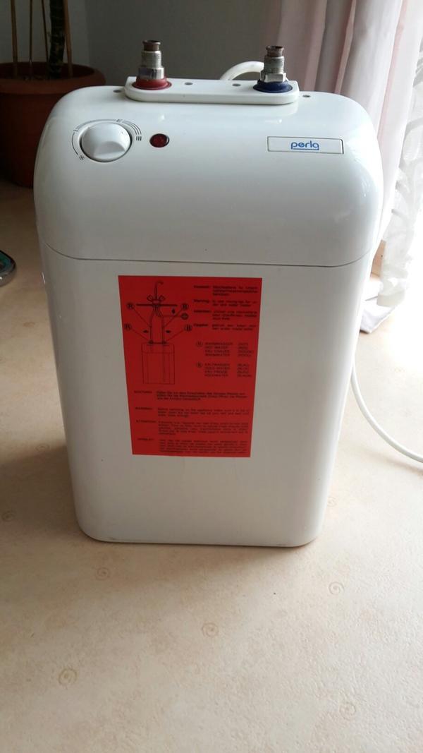 Untertisch Boiler - Forst - Perla Boiler gebraucht 5 Liter sehr gute Zustand - Forst