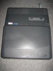 uralter antiker Laptop Computer echte