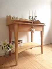 Waschtisch antik  Uriger Waschtisch ANTIK Weichholz Tisch Kommode Schreibtisch ...
