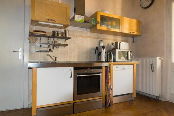 v rde k che komplett mit backofen kochstelle. Black Bedroom Furniture Sets. Home Design Ideas