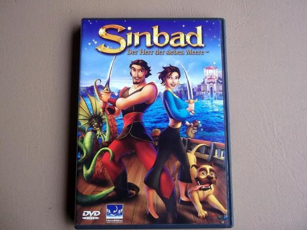 verkaufe DVD Sinbad-Der Herr der