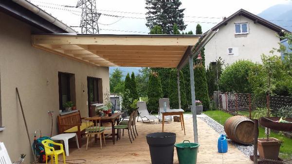 verkaufe vordach ma anfertigung stahlkonstruktion in. Black Bedroom Furniture Sets. Home Design Ideas