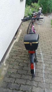verschiede Fahrräder