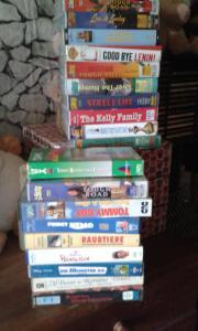 VHS Kasetten