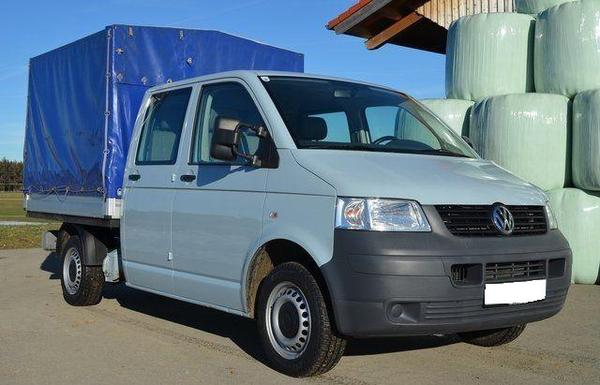 vw transporter t5 dpf doka pritsche in stolzenau vw bus. Black Bedroom Furniture Sets. Home Design Ideas