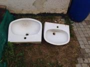 Waschbecken für Polterabend