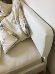 Weißes Bett - 200 *
