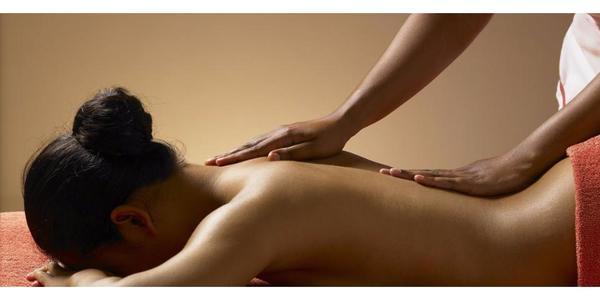 Wellness Massage geniessen nur für