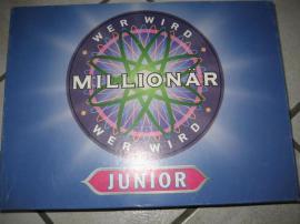 Wer wird Millionär - Junior neuwertig: Kleinanzeigen aus Birkenheide Feuerberg - Rubrik Gesellschaftsspiele