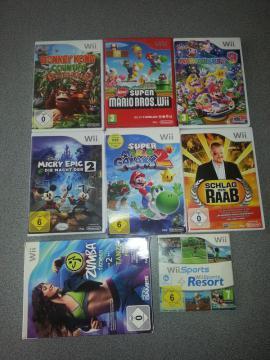 Wii Konsole 8 Spiele Balanceboard: Kleinanzeigen aus Hohenems - Rubrik Wii