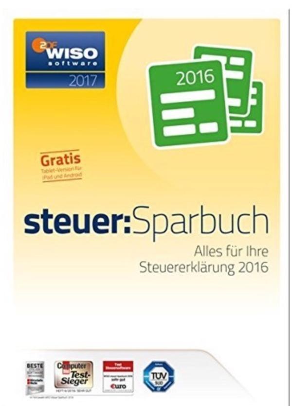 WISO Steuersparbuch 2017 - Heddesheim - Ich biete das WISO Steuersparbuch 2017 für die Steuererklärung 2016. Dieses besteht aus CD-Rom und einem beigefügten Buch mit entsprechenden Erläuterungen zur Eingabe und Steuererklärung. - Heddesheim