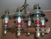 Wohnzimmer)-Lampe, Eichen-