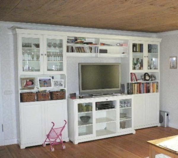 Wohnzimmerschrank Ikea Weiss