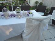 Wunderschöne komplette Hochzeitsdeko