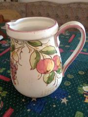 Wunderschöner Keramikkrug und