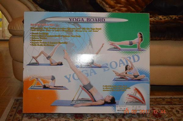 Yoga Board neu