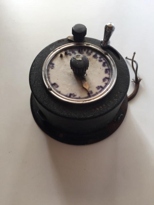 Zeitschaltuhr antik , mechanisches » Sonstige Sammlungen