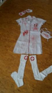Zombie Krankenschwester Kostüm